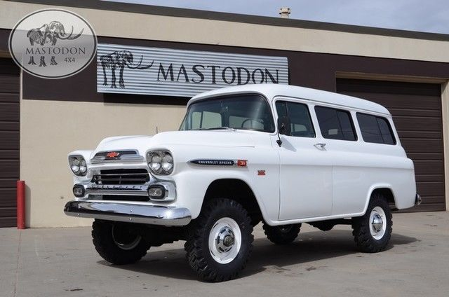 1959 Chevrolet Other Pickups CHEVY SUBURBAN NAPCO 4x4