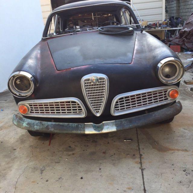 1959 Alfa Romeo Giulietta Sprint 750 101 For Sale Photos Technical