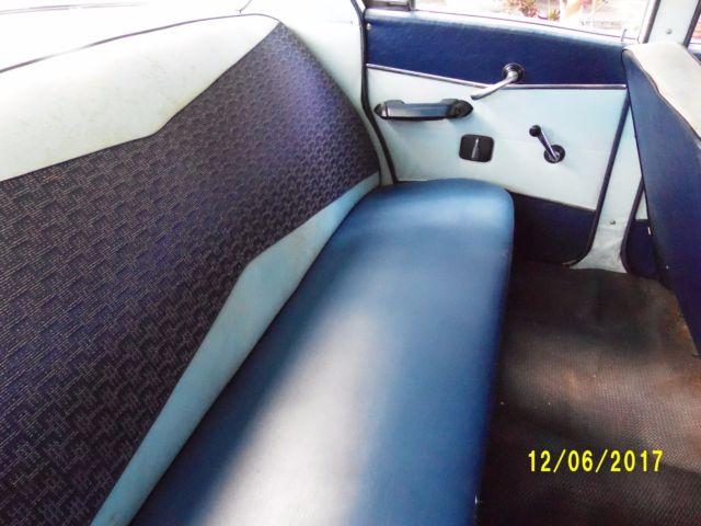1959 White AMC Other Sedan with Blue interior