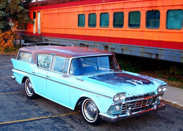 1958 AMC Other Rambler Cross Country Super Wagon Custom