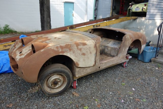 1959 Austin Healey Sprite Stored inside since 1971