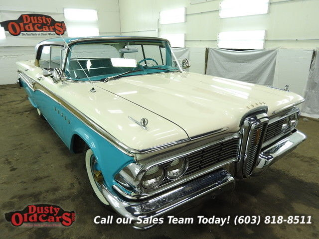 1959 Edsel Corsair Runs Drives Body Inter VGood 410V8 2spd Auto
