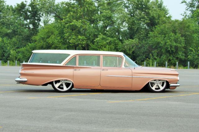 1959 Brookwood Station Wagon Nut Bolt Resto Pro Touring
