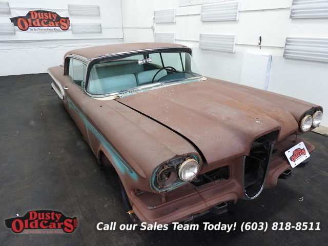 1959 Edsel Corsair Hardtop Missing Motor Good Body for Parts