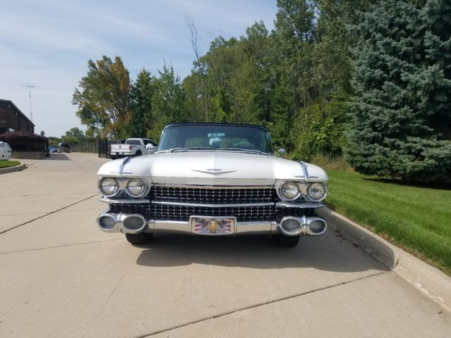 1959 Cadillac Convertible One Owner From 1959 2012 Series 62 For