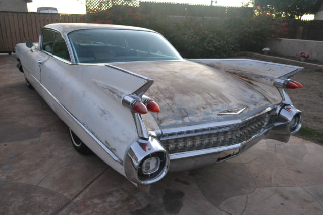 1959 Cadillac DeVille 2 DOOR COUPE DEVILLE W/ FACTORY AIR-LOW RESERVE