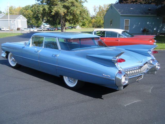 1959 cadillac sedan deville 4 window (flat top) original survivor