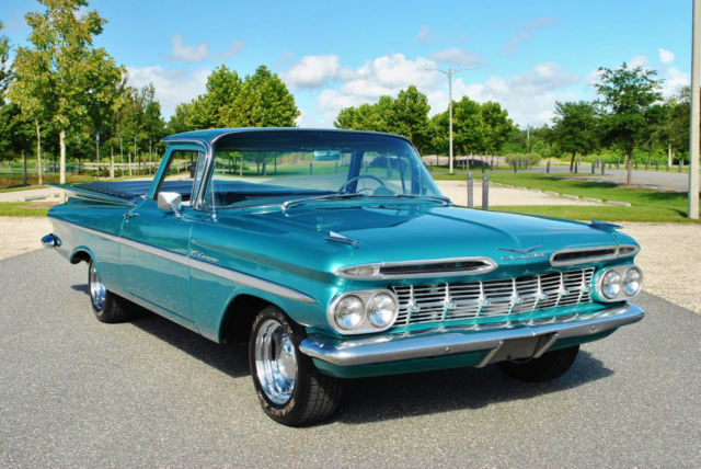 1959 Chevrolet El Camino Very Rare Original 283 V8 Factory Air Conditioning