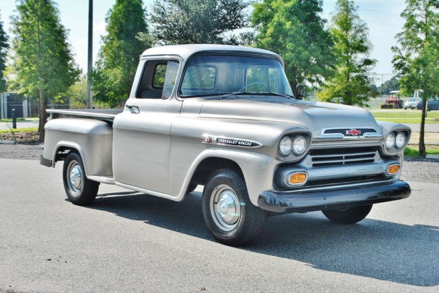 1959 Chevrolet Apache Rare Antique Classic Collector Stepside Pickup