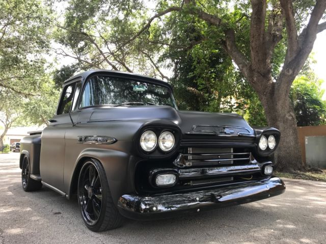 1959 Chevrolet Apache Stepside Custom Hotrod Ratrod For Sale Photos