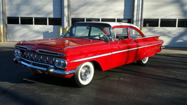 1959 Chevrolet Bel Air, Impala, Restored, New Floor Pans, Hot Rod, Vintage  Air