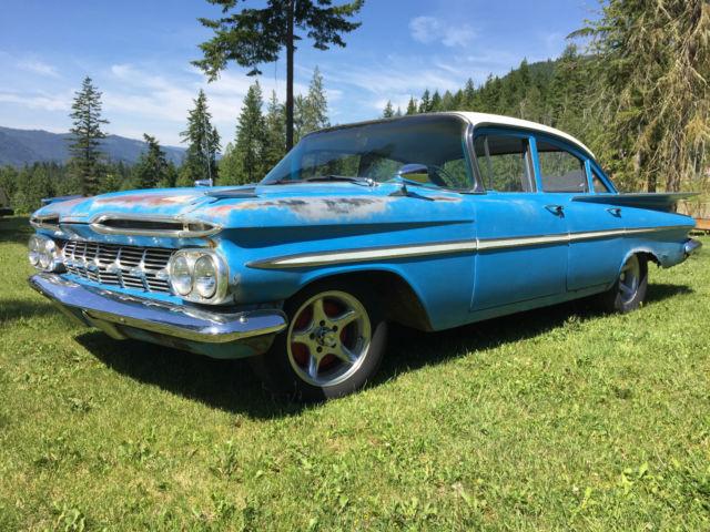 1959 Chevrolet Bel Air Rat Rod No Reserve For Sale Photos Technical Specifications Description