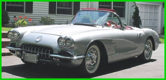 1959 chevrolet corvette used manual convertible chevy numbers matching for sale photos. Black Bedroom Furniture Sets. Home Design Ideas