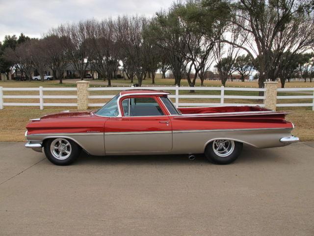 1959 Chevrolet El Camino 409 425 Hp Lenco 4 Speed Air