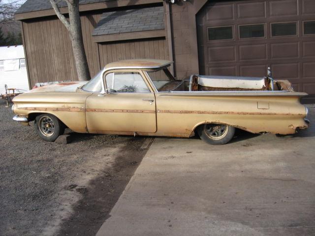 1959 chevrolet el camino belair impala other for sale. Black Bedroom Furniture Sets. Home Design Ideas