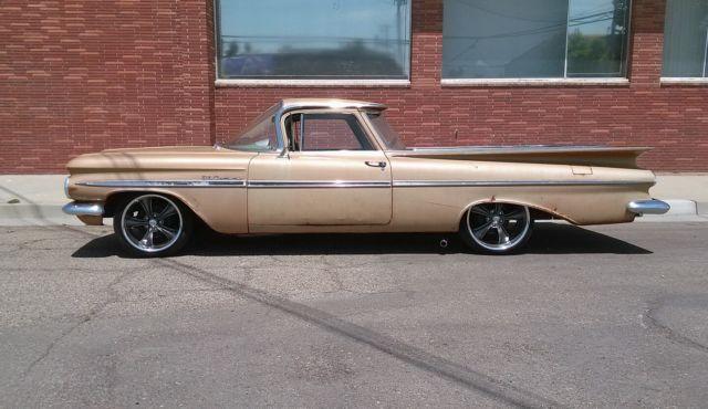 1959 Chevrolet El Camino Restomod Ratrod Shoptruck