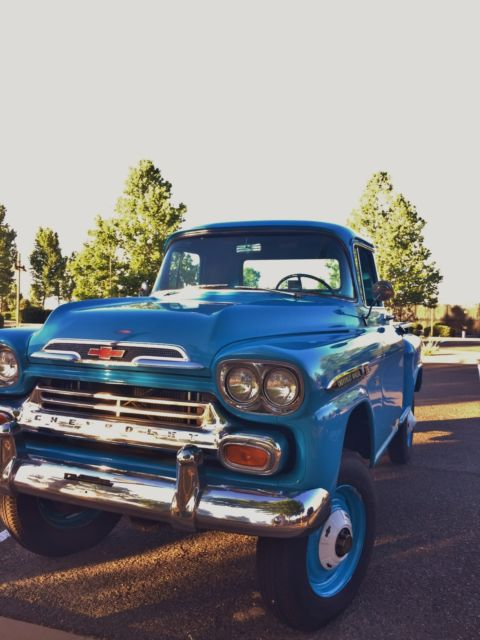 1959 Chevrolet Napco 4 Wheel Drive Apache For Sale Photos