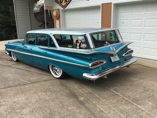 1959 Chevrolet Parkwood Station Wagon Ls Swap Best Of The