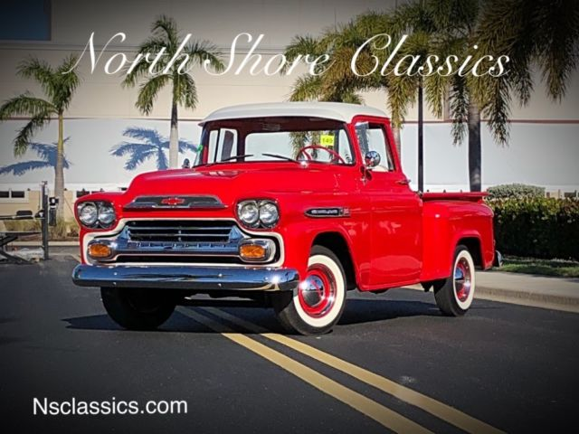1959 Chevrolet Other Pickups Apache 31-FRAME OFF RESTORED-FLORIDA STEP SIDE PIC