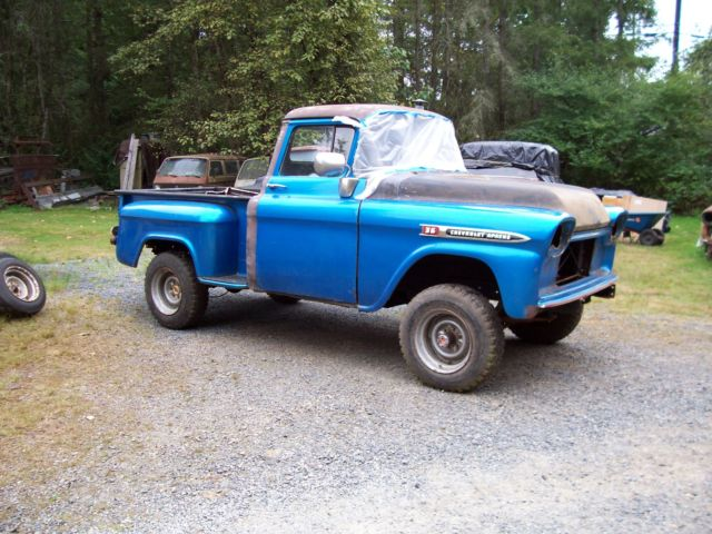 1959 Chevrolet Other Pickups plain