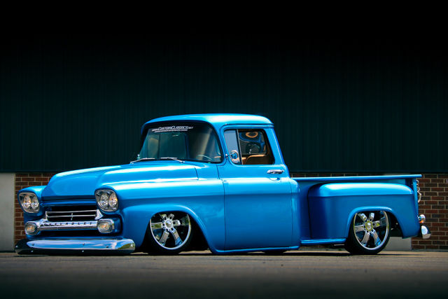 1959 Chevy 3100 Show Truck 350 V8 Air Ride 4whl Disc Brakes Custom Interior For Sale