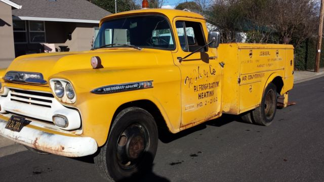 1959 Chevrolet Other Pickups SHORT BED DULLEY