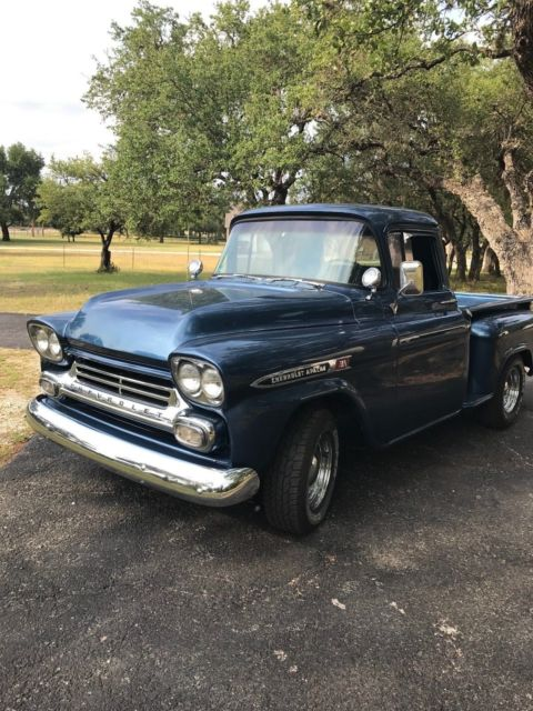 1959 Chevy Apache Stepside Pickup For Sale Photos Technical