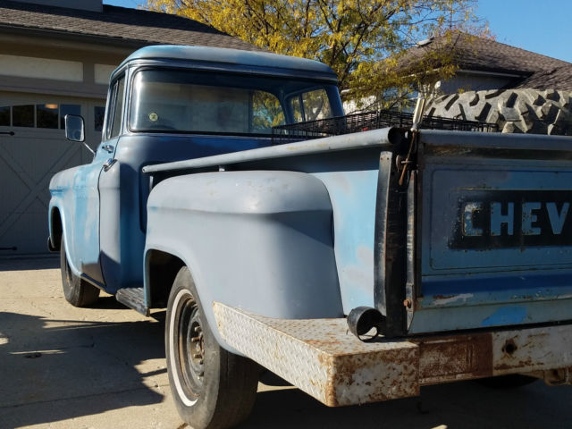1959 Chevy Truck - Big Back Window -1967 Chevelle Rear End - California Truck