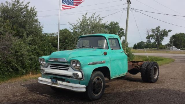 1959 chevy truck pickup ratrod coe 47 48 49 50 52 53 for sale photos technical. Black Bedroom Furniture Sets. Home Design Ideas