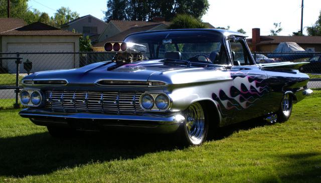1959 custom el camino street legal race car reduced price. Black Bedroom Furniture Sets. Home Design Ideas