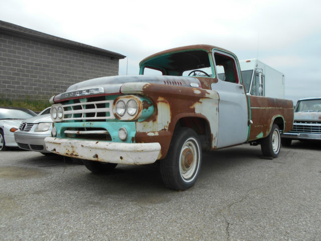 1959 Dodge Other Pickups D100, BARB FIND, PROJECT, RAT ROD