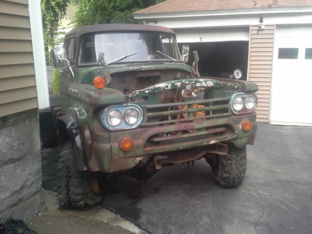 1959 Dodge Power Wagon w-300