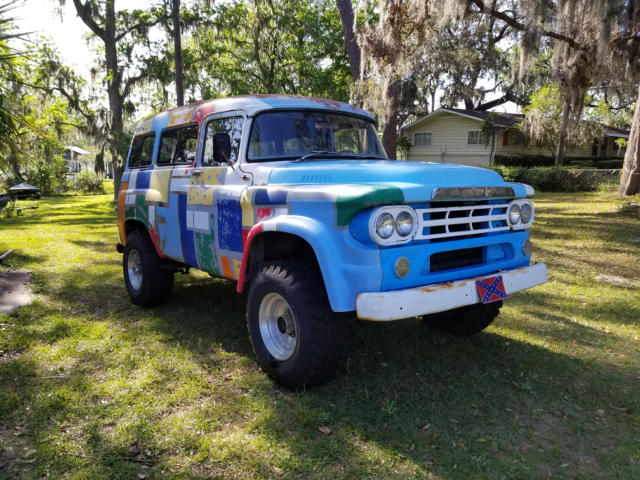 1959 Dodge Power Wagon Town Wagon 340 Engine For Sale Photos