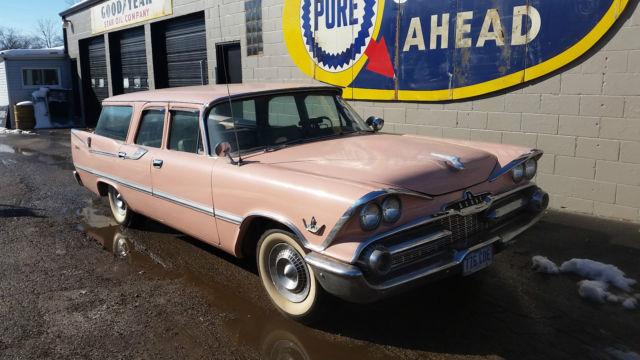 1959 Dodge Sierra Station wagon Chevrolet Ford station wagon Hot rod ...
