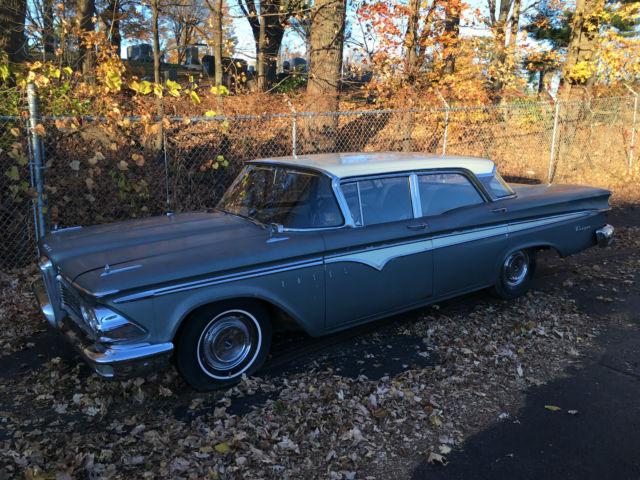 1959 EDSEL 4 DOOR PARTS CAR NO RESERVE