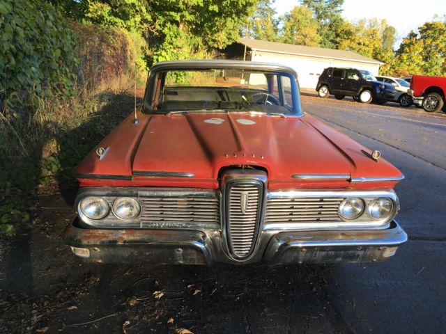 1959 EDSEL COMPLETE PARTS CAR NO RESERVE