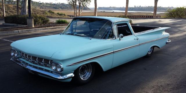 1959 El Camino Customhot rodstreet rodtraditionalpro touring