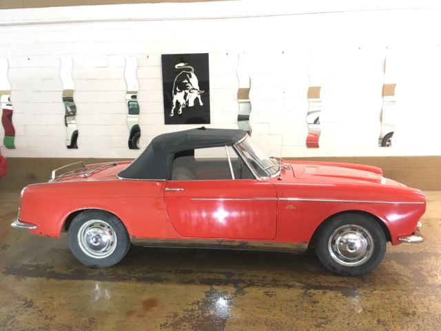 1959 Fiat 1200 Vetture Speciale Cabriolet