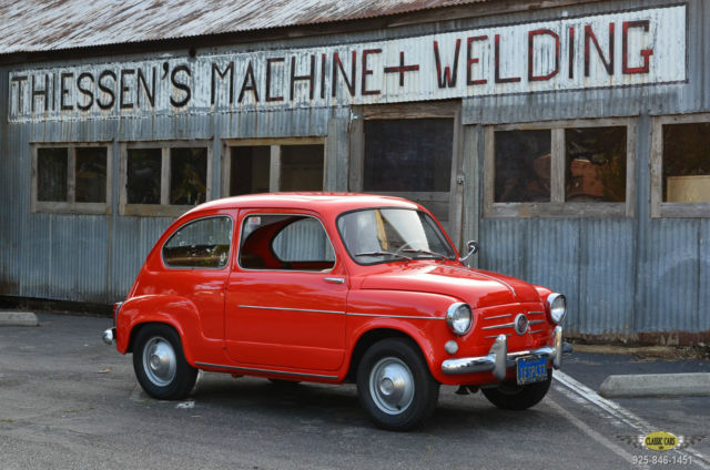 1959 Fiat 600 SUICIDE DOOR COUPE