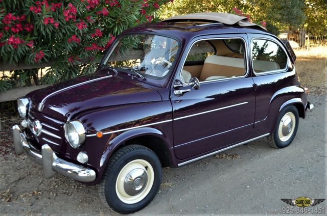 1959 Fiat 600 - CA. SUNROOF 600 - SUICIDE DOOR!