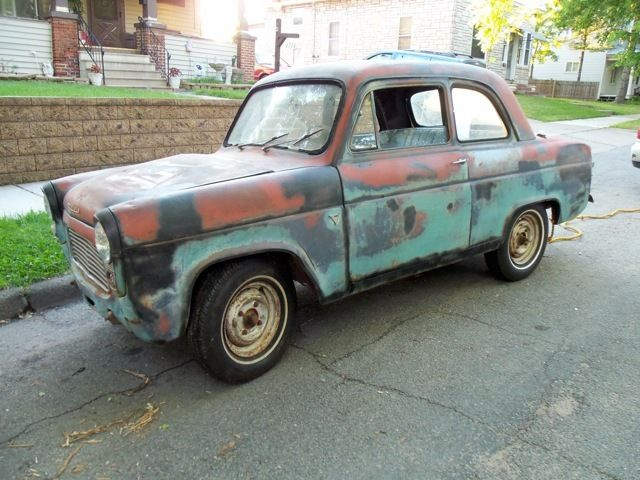 1959 ford anglia 101e 2dr rare in u s a no title for sale photos technical specifications. Black Bedroom Furniture Sets. Home Design Ideas