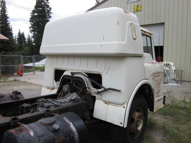 1959 Ford Coe Cabover With Factory Sleeper Detroit Diesel