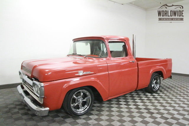 1959 Ford F-100 FRAME OFF RESTORED HOT ROD! PS.PB!