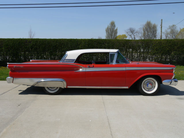 1959 ford fairlane 500 galaxie skyliner retractable hardtop convertible stunn. Cars Review. Best American Auto & Cars Review
