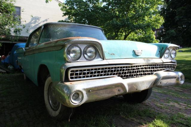 Buy Used 1959 Ford Galaxie Fairlane 500 2 Door Ht