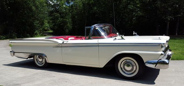 1959 Ford Galaxie Retractable