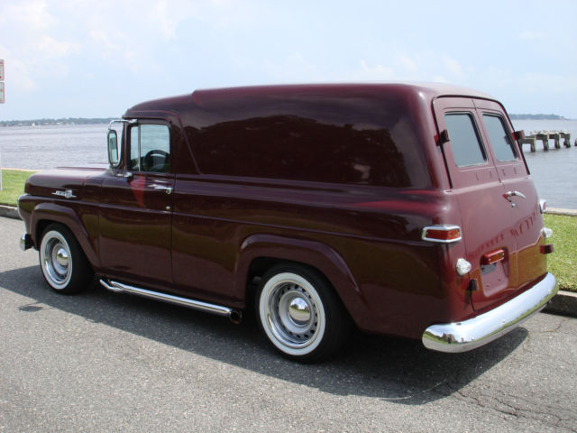 1959 Ford Panel Truck Delivery Pro Touring Streetrod
