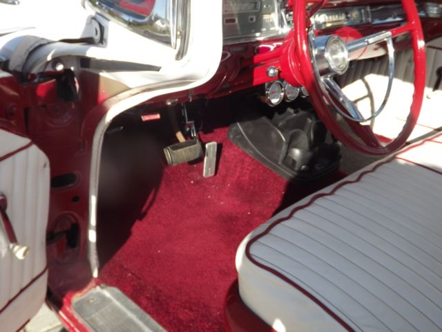 1959 Metallic Red/White Ford Ranchero with Red/White interior