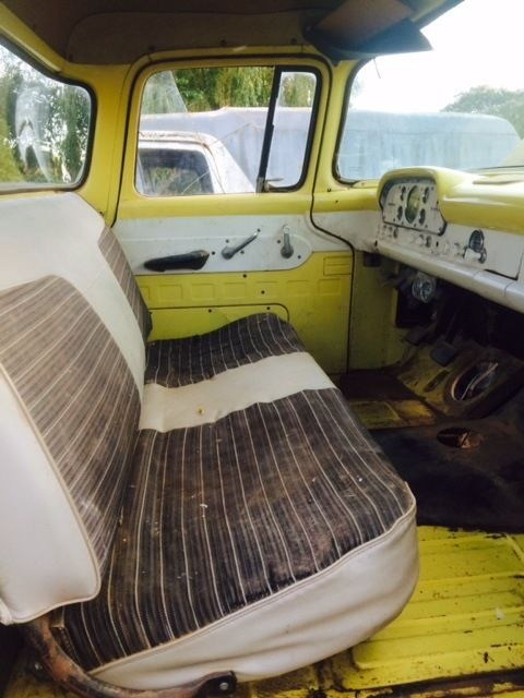 1959 Ford Truck F100 Big Back Window Custom Cab 1958 1957