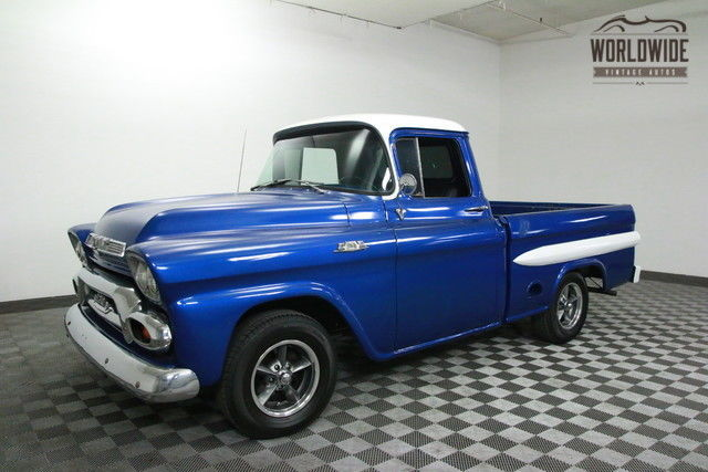 1959 GMC 9310 SHORTBED TRUCK RESTORED AUTO AC V8! PS!